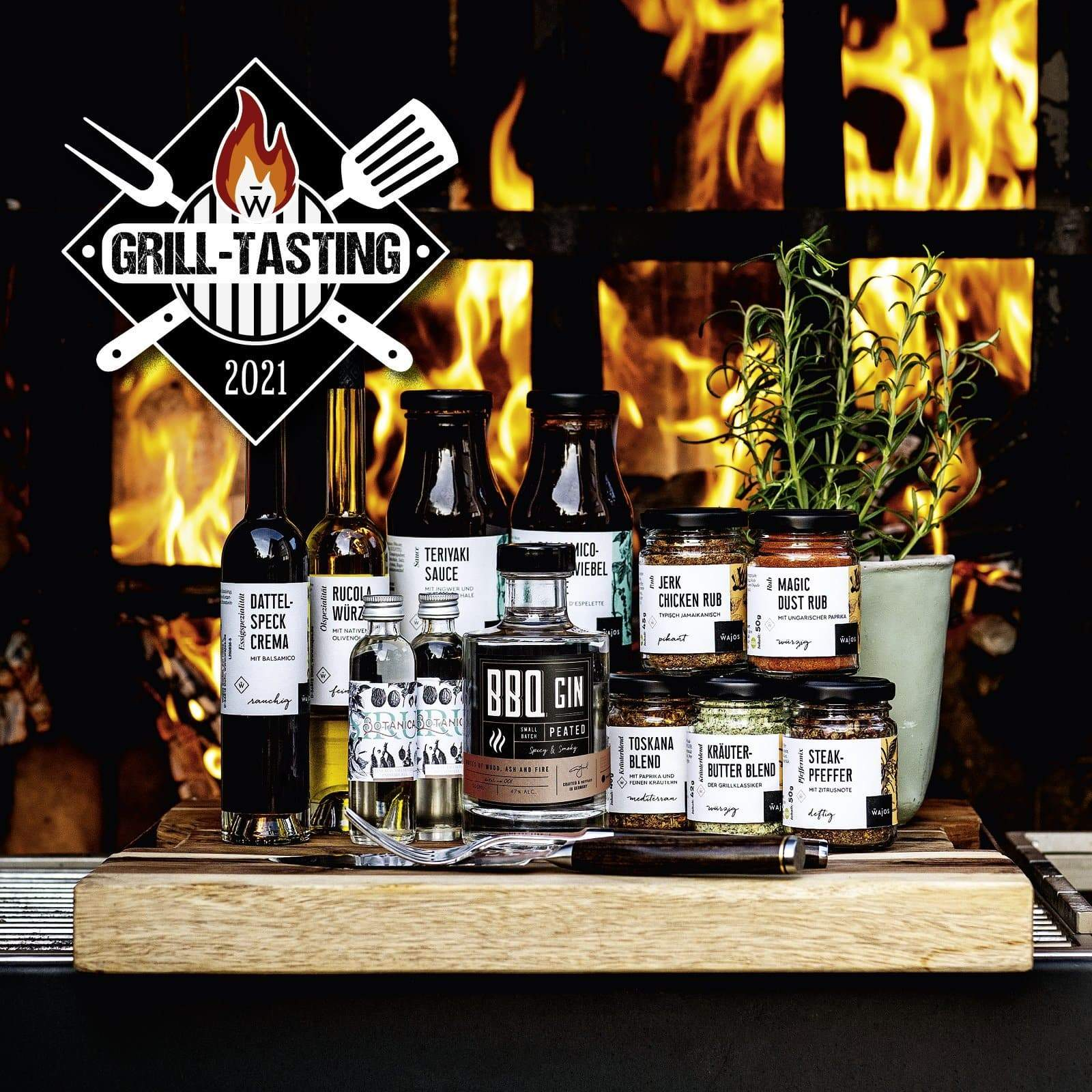 Grill Tasting Set Bocholt